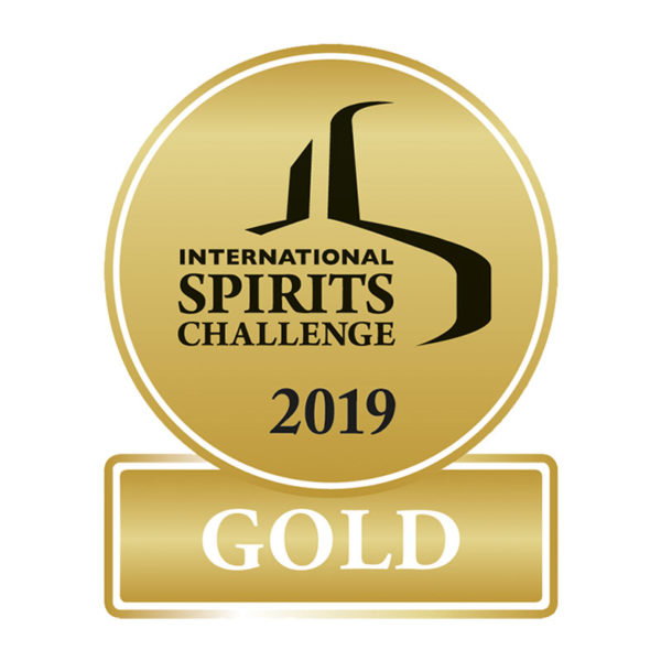 International Spirits Challenge 2019 - Gold Award