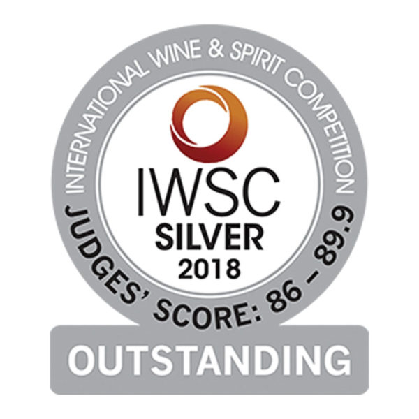 International Wine & Spirits Competition 2018 - Silver Outstanding