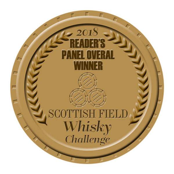 Scottish Field Whisky Awards Readers Panel Winner