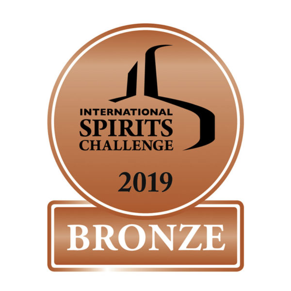 International Spirits Challenge 2019 - Bronze Award