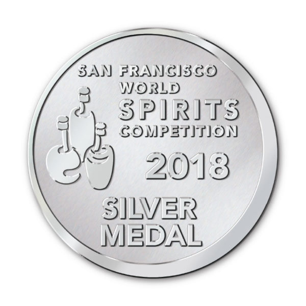 San Francisco World Spirits Competition 2018 - Silver