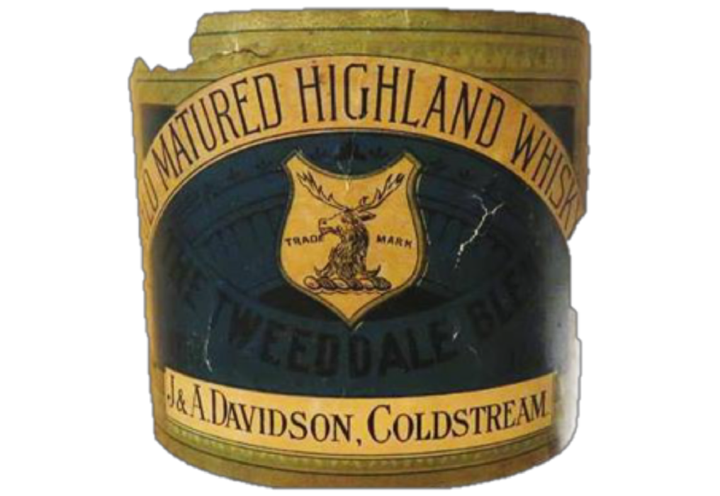 Tweeddale Whisky Historic Label