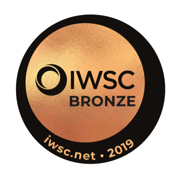 IWSC Awards 2019 - Bronze - Tweeddale Grain of Truth