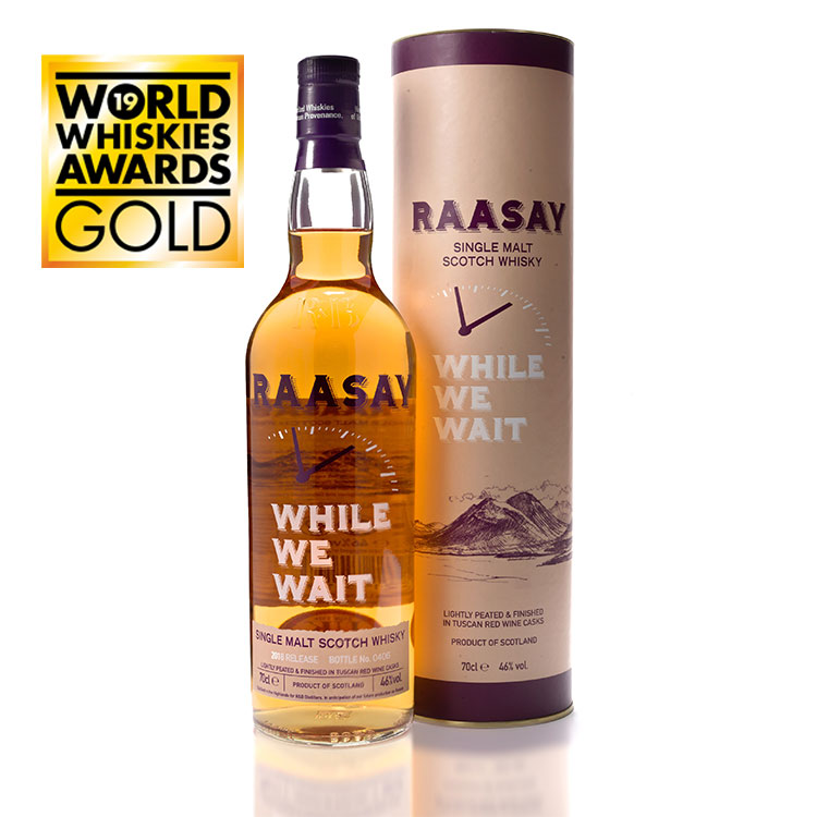 Raasay While We Wait - 2018 Release (70cl)