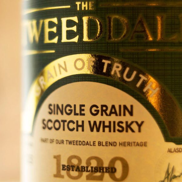Tweeddale Grain of Truth Bottle Label
