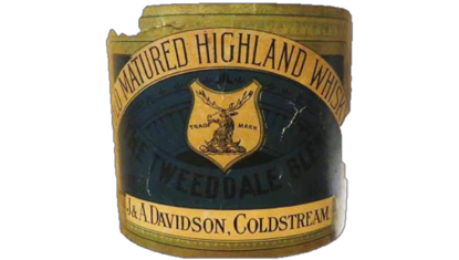 The Tweeddale Whisky Historic Label